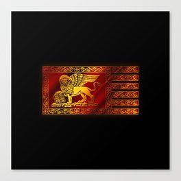 VENETIAN FLAG Canvas Print