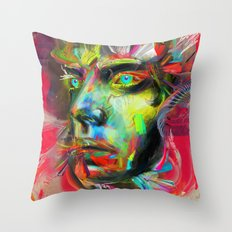 Rainscape Rhythm Throw Pillow