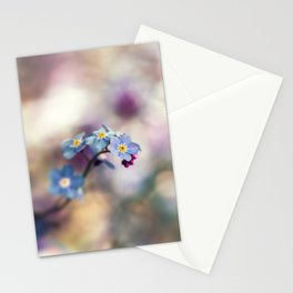 Forget-Me-Not Dreamy Flower Stationery Cards