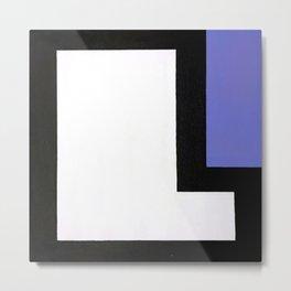 Geometric Design by Dominic Joyce Metal Print