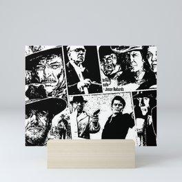 When Morricone Meets Leone Mini Art Print