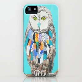 Imaginary owl iPhone Case