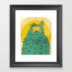 Monster Love! Framed Art Print