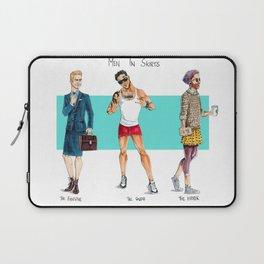Men in Skirts Laptop Sleeve
