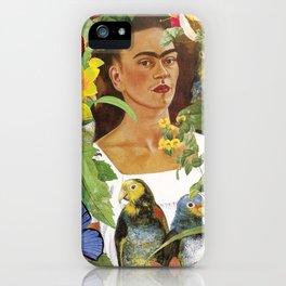 Frida Kahlo Collage iPhone Case