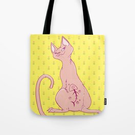 Cats with Tats Tote Bag