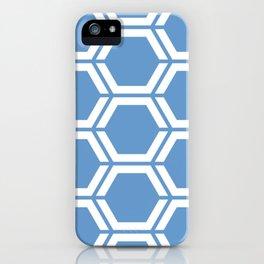Livid - turquoise - Geometric Polygon Pattern iPhone Case