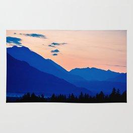 Peaceful Sunset Rug