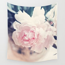 Beautiful Peony Flower Art Wall Tapestry