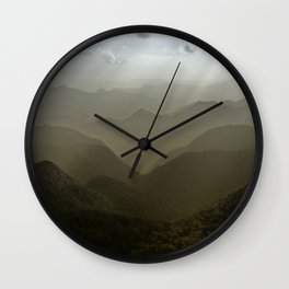 Caught in a mood... Wall Clock
