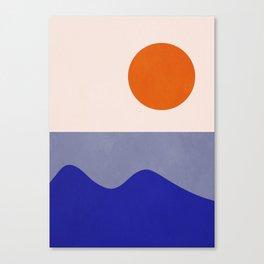 abstract minimal 50 Canvas Print