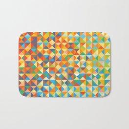 Triangles & Colors Bath Mat