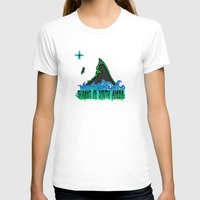 south africa T-shirts featuring Sharks Of South Africa by Chefleclef