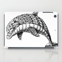 ornate iPad Cases featuring Ornate Dolphin by BIOWORKZ