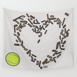 Messy Heart Wall Tapestry