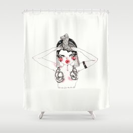 Ode To Theda Shower Curtain