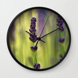lavender 1 Wall Clock