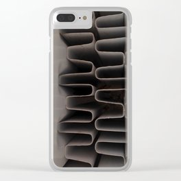 Industrial Coils Pop Art Clear iPhone Case
