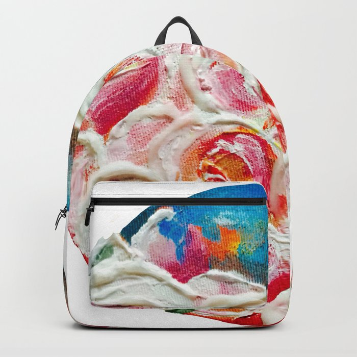 Roses on Fire Backpack