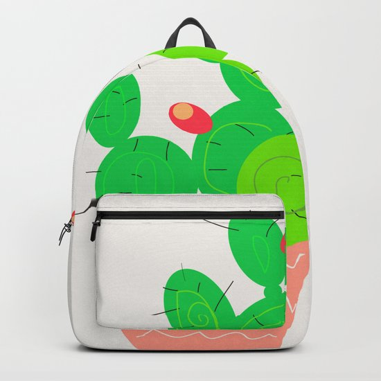 Potted Cactus Backpack