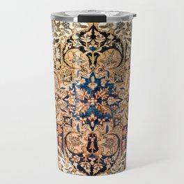 Ferahan Arak  Antique West Persian Rug Print Travel Mug
