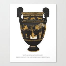 Celtus Panthera Tigris (Irish Government) Canvas Print