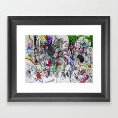 Angry Spirits of Arthur McDuffie Framed Art Print