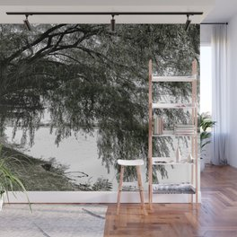 Weeping Willow on the Water Wall Mural