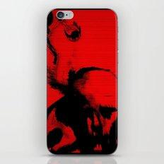 Parasite Oddity (Red Mix) iPhone Skin