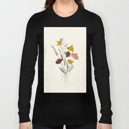 Wildflowers Bouquet Long Sleeve T-shirt