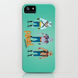 Biker Mice from Mars - Pixel Nostalgia iPhone Case