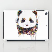panda iPad Cases featuring panda by ururuty