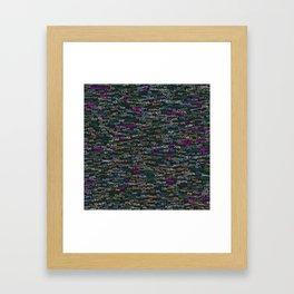 Web developer Framed Art Print