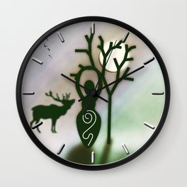 Goddess Wall Clock