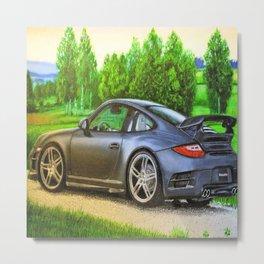 Sports car # 2 Metal Print