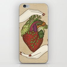 Eating is caring iPhone & iPod Skin