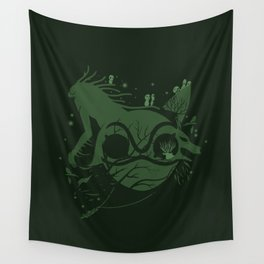 The Legend of Forest Hunter Wall Tapestry