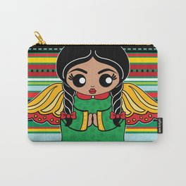 Christmas Angel Carry-All Pouch