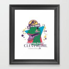 Clevergirl Framed Art Print