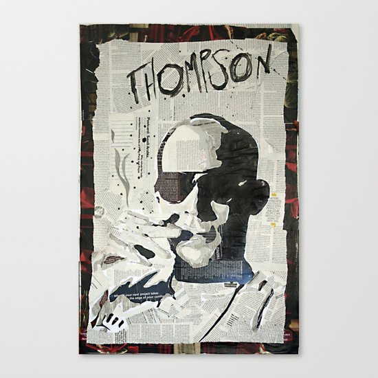 Dr. Hunter S. Thompson Canvas Print