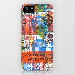 Stereo Werewolf No.1 iPhone Case