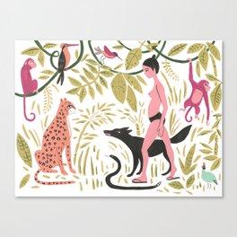 Fermina in the Amazon Canvas Print