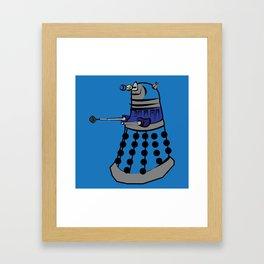 Pop Dalek Framed Art Print
