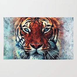 Tiger spirit Rug