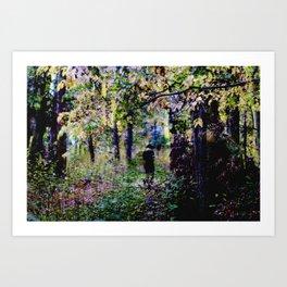 Path Art Print