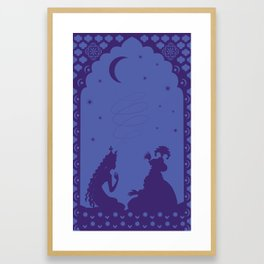 Scheherazade and a thousand and one nights Framed Art Print