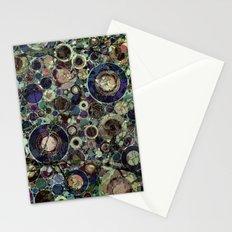 Stone Pattern Fantasy Stationery Cards