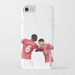 Pogba Lingard - Manchester United - Dab iPhone Case