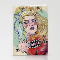 devil Stationery Cards featuring Devil. by Izuru  Kumo
