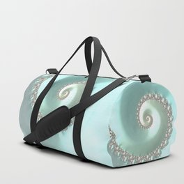 Fractal Ocean Wave Duffle Bag